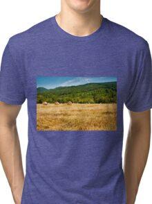 Hay bales Tri-blend T-Shirt