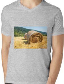 Hay bales Mens V-Neck T-Shirt