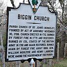 Biggin Church History by James J. Ravenel, III
