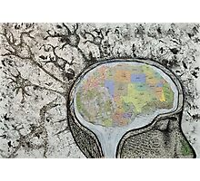 Map of the Mind Photographic Print