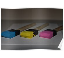 Colours in Threes Poster