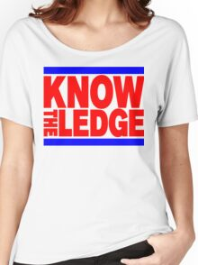 KNOW THE LEDGE Women's Relaxed Fit T-Shirt