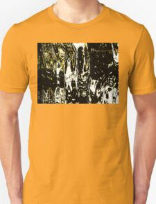 Mummy With A White Cat On His Shoulder Unisex T-Shirt