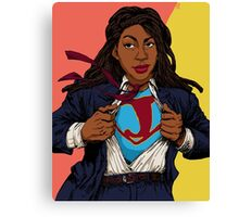the heroes we deserve - Jessica Williams Canvas Print