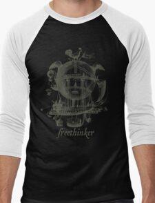 Freethinker Men's Baseball ¾ T-Shirt