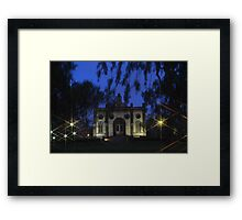 The Sun, The Moon, and The Stars Framed Print