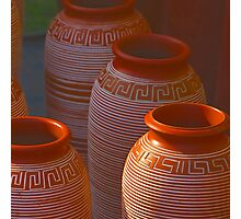 India Earthen Pottery#2 Photographic Print