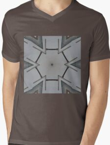 Second Severn Bridge Mash-Up Mens V-Neck T-Shirt