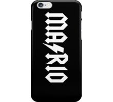 MA/RIO (a) iPhone Case/Skin