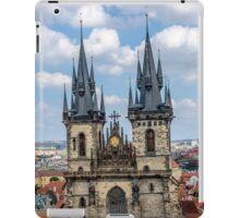 Teyn gothic cathedral in Prague iPad Case/Skin