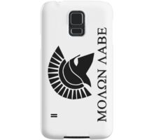 Molon lave - Spartan warrior Samsung Galaxy Case/Skin