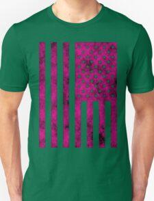 US Flag Grunge Style T-Shirt