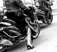 milano riding by CatharineAmato