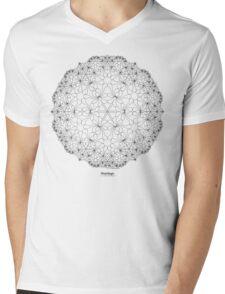 Petal Magic Mens V-Neck T-Shirt