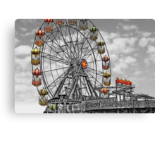Skeggy Giant Wheel Canvas Print