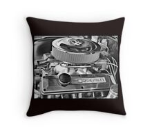 Chevy Engine Throw Pillow