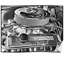 Chevy Engine Poster