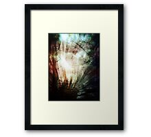 All you can see Framed Print
