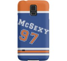 Oilers Connor McSexy - Jersey Style Samsung Galaxy Case/Skin