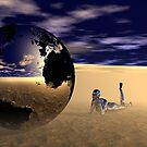 Dreaming of Other Worlds by Sandra Bauser Digital Art