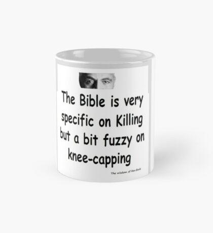 The Rev Book Killing / Knee-capping Mug