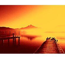 Mondsee in Austria Photographic Print