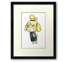 Isabelle Chibi (Animal Crossing:New Leaf) Framed Print
