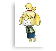 Isabelle Chibi (Animal Crossing:New Leaf) Canvas Print