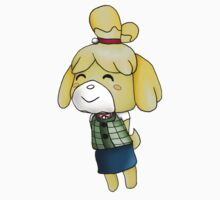 Isabelle Chibi (Animal Crossing:New Leaf) Kids Clothes