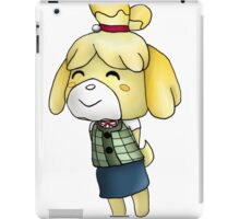 Isabelle Chibi (Animal Crossing:New Leaf) iPad Case/Skin