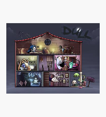 Dull - The dolls'house Photographic Print