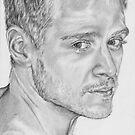Male portrait study by L K Southward