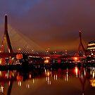 Zakim bridge by LudaNayvelt