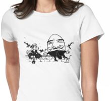 Alice and Humpty Womens Fitted T-Shirt