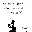 Writer's Block by Nebsy