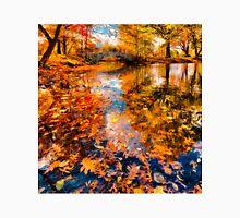 Boston Fall Foliage Reflection T-Shirt