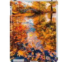 Boston Fall Foliage Reflection iPad Case/Skin