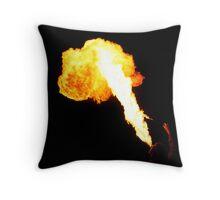Flamethrower 2 Throw Pillow