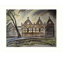 East Riddlesden Hall Art Print