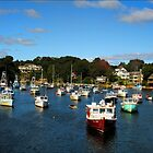 PERKINS COVE IN SEPTEMBER by Arline Grant