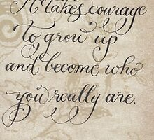 Encouraging ee cummings quote by Melissa Goza
