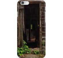 Into the Hog Barn iPhone Case/Skin