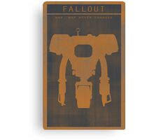 Fallout Yesman Gaming Poster Canvas Print