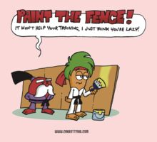 The Carrotty Kid: Paint the Fence Kids Clothes