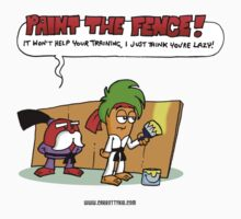 The Carrotty Kid: Paint the Fence by Fanton