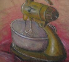 Yellow Mixer Still Life by Jasmin Witham