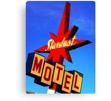 Stardust Motel Canvas Print