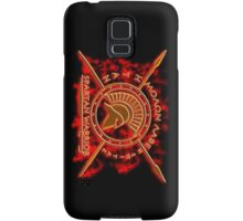 Spartan warrior - Molon lave and come back with your shield or on it! Samsung Galaxy Case/Skin
