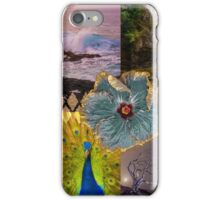 Poipu Sunrise, Kauai Hawaiian Digital Mixed Media iPhone Case/Skin