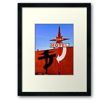 Stardust Motel I Framed Print